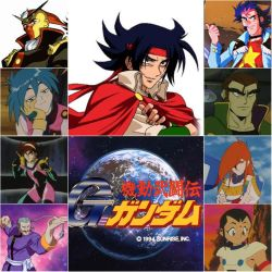 Mobile Fighter G Gundam Collage by IronCobraAM