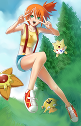 Misty - The good old days by squigi