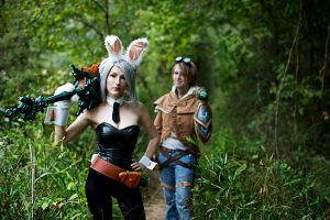 Battle Bunny Riven by idleambition
