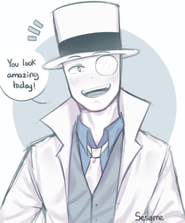 WhiteHat by owoSesameowo
