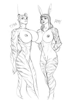 Tyra And Amy by Ephorox