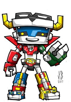 chubbies voltron by WOLVERINE76