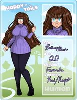 Happy-Tails  human app: Bethany Marsh by VoodooRed