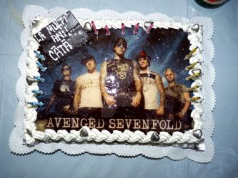 Avenged Sevenfold BirthdayCake by CryingForTheAngels
