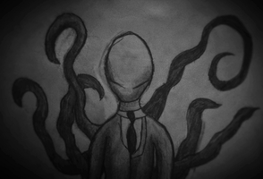 The Slenderman by SALT--WATER