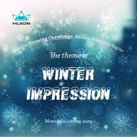 Theme Reveal:Winter Impression by huion