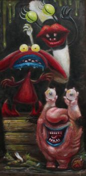 Aaahh Real Monsters by brucethebandit