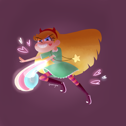ONE PUNCH STAR by nahrgles