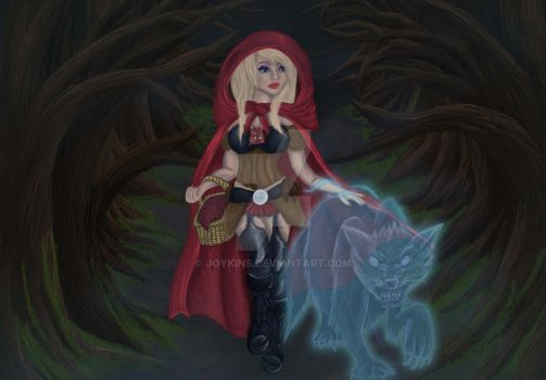 little red riding witch by Joykins
