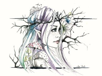 Spirit Of The Woods by ayaholland