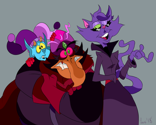 The Bad Luck Crew by Loko-Motion