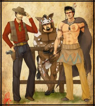 Wild West Ghost Adventure by Momo-Deary