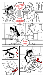 An Isabela Comic by whipyohair