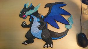Pokemon #22 - Mega Charizard X by MagicPearls