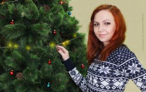 Amy Pond cosplay - Christmas special by AnastasiyaKosenko
