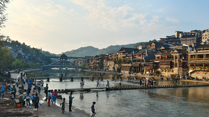 Fenghuang River View by Freedom4Arts