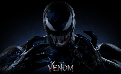 VENOM WALLPAPER (Fan-Art) by HeroGollum