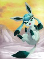 Glaceon by andrerb