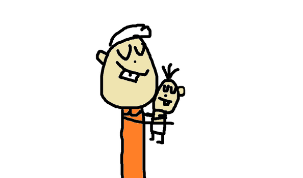 Lincoln Loud Hugging Lily Loud by LoudHouseLover69