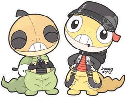 Chibi Scraggy's :Gift/draw this again: