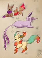 Pkmnation Duo evolution by kitzune-griffith