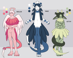 [Guest Artist] Reaper Adoptables [3/3 OPEN] by floofyowl