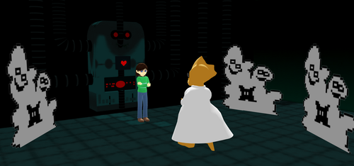 ~UT MMD: Alphy's Explanation~ by The-Irish-Gal