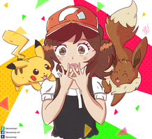 Pokemon Lets Go! by Sakurawings1