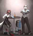 Musteladies: Slow Evening at the Knockout Bar by MykeGreywolf