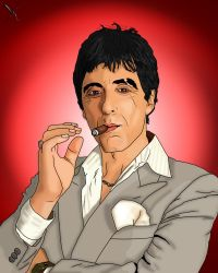 Scarface.- Al Pacino by kat880