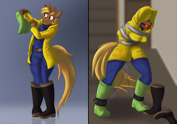 Golden Gear Commission by hollowmask