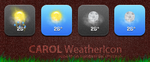 CAROL WeatherIcon theme by Plizzo