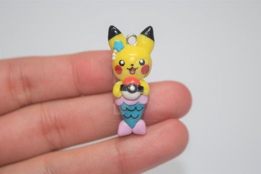 Pikachu Mermaid by lyssacrafts