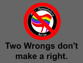 2 wrongs don't make a right by DeltaUSA