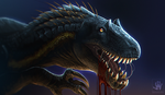 Scientifically Plausable Indoraptor by DemonML