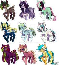 [CLOSED] Pony adopts by Fireflys-Adopts