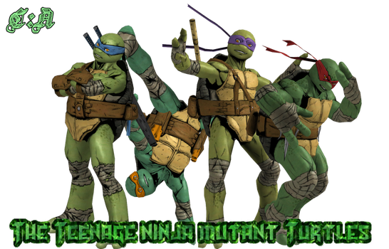 XPS - TMNT by MasterLadyNightmare