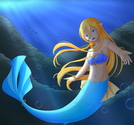 Mermaid Lily by SxLizzy