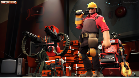 Team Fortress 2 - The Engineer by DANJ16