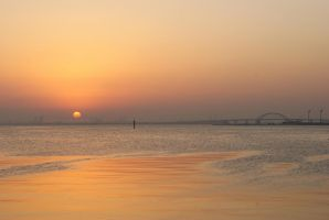Manama Sunrise by wafitz
