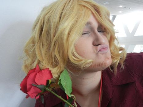 Otakon 2013 - Flirty Frenchman by RuneQuicksilver