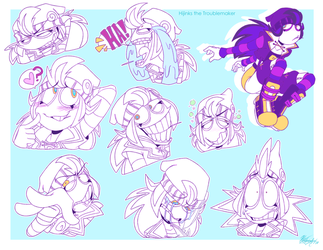 Hijinks Expression Sheet by ToxicSoul77