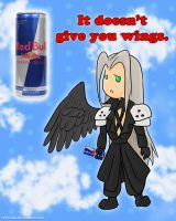 Red Bull Doesn't Give You Wings: FF7 by Thysania