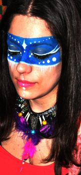 Ani Jewelry Design  make up and photography Blue N by AniDandelion