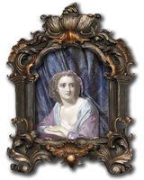 EKD - Lady in a Frame png by EveyD