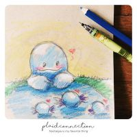 Mama Quagsire and Her Babies. by PlaidConnection
