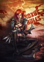 Katarina - The sinister blade by MonoriRogue