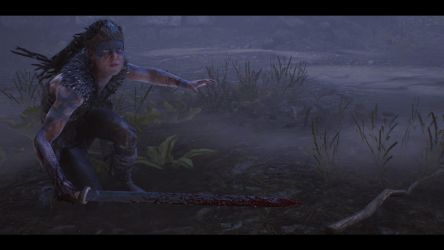 Midst Blood and Fog. Hellblade Senua's Sacrifice. by xJobO-De-HobOx