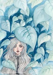 Silver Forest by ARiA-Illustration