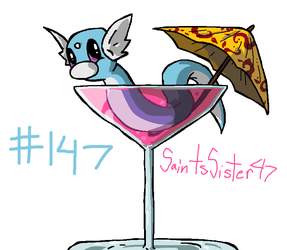 #147 Dratini by SaintsSister47